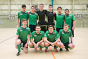 Polonia Dundee (white) v Stirling Uni (green) - Scottish Futsal Cup last 16 at DISC<br /> <br />  - &copy; David Young - www.davidyoungphoto.co.uk - email: davidyoungphoto@gmail.com
