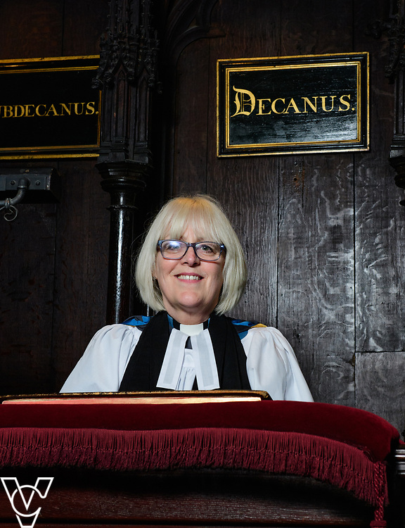 The Very Reverend Christine Wilson - Dean of Lincoln Cathedral.<br /> <br /> Picture: Chris Vaughan Photography<br /> Date: March 20, 2017