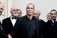 Mr Yanis Varoufakis meets italian minister of Economy