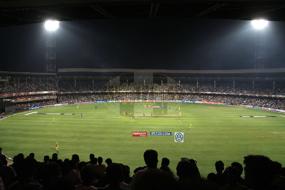 GV during The IPL 2012, Season 5, eliminator match between The Mumbai Indians and The Chennai Superkings held at the M. Chinnaswamy Stadium, Bengaluru on the 23rd May 2012..Photo by Shaun Roy/IPL/SPORTZPICS