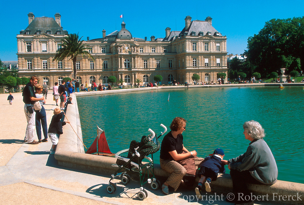 FRANCE, PARIS Luxemburg Palace built in 1631