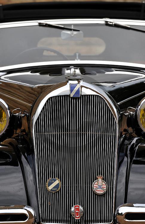 06/10/09 - LA CLAYETTE - SAONE ET LOIRE - FRANCE - Essais TALBOT T32 de 1932 - Photo Jerome CHABANNE