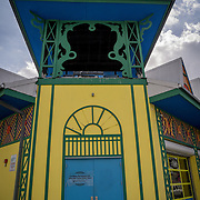 MIAMI, FLORIDA - FEBRUARY 8, 2016<br /> The Little Haiti Cultural Center in Miami's Little Haiti which is a neighborhood formerly known as Lemon City.<br /> (Photo by Angel Valentin)