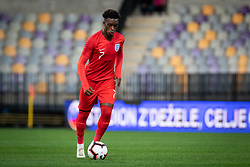 Callum Hudson Odoi of England during friendly Football match between U21 national teams of Slovenia and England, on October 11, 2019 in Ljudski Vrt, Maribor, Slovenia. Photo by Blaž Weindorfer / Sportida