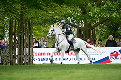 Kyle Mark (IRL) - Coolio<br /> Cross Country - CCI4* <br /> Mitsubishi Motors Badminton Horse Trials 2014 <br /> © Hippo Foto - Jon Stroud