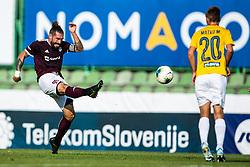 Luka Majcen of NK Triglav  during football match between NK Triglav and NK Bravo in 8th Round of Prva liga Telekom Slovenije 2019/20, on August 30, 2019 in Sport park ZAK, Ljubljana, Slovenia. Photo by Grega Valancic / Sportida