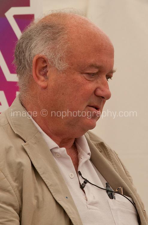 Louis de Bernieres in conversation with Martina Devlin at the Dalkey Book Festival, Dalkey, County Dublin, Ireland, Sunday 18th June 2017. Photo credit: Doreen Kennedy
