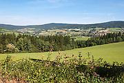 Landschaft, Lamer Winkel, Bayerischer Wald, Bayern, Deutschland   landscape Lamer Winkel, Bavarian Forest, Bavaria, Germany