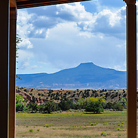 Cerro Pedernal, as seen from Ghost Ranch in Abiquiu, NM