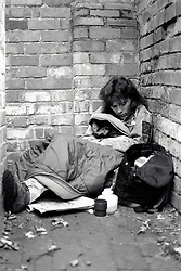 Homelessness, UK 1980s