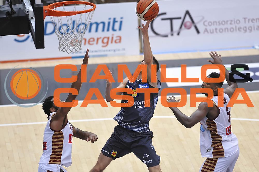 Diego Flaccadori<br /> Dolomiti Energia Aquila Basket Trento - Umana Reyer Venezia<br /> Playoff Gara 3<br /> Lega Basket 2016/2017<br /> Trento 14/06/2017<br /> Foto Ciamillo-Castoria