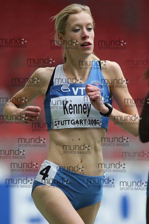 (Stuttgart, Germany---14 September 2008) Laura Kenney of Great Britain running in the 3000m at the 2008 World Athletics Final. [Copyright Sean W. Burges/Mundo Sport Images, 2008.]
