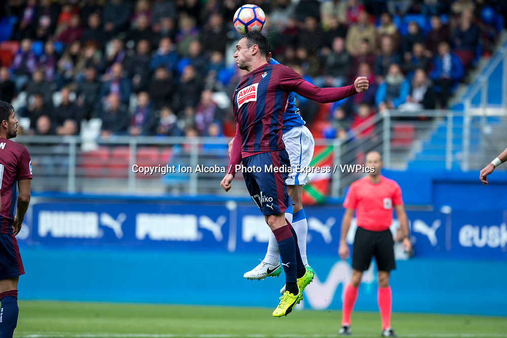 Match day of La Liga Santander 2016 - 2017 season between S.D Eibar - C.D Leganes, played Ipurua Stadium on Sunday, April 30th, 2017. Eibar, Spain. 17 Kike. Photo: ION ALCOBA | PHOTO MEDIA EXPRESS