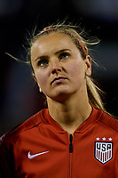 ALICANTE, SPAIN - JANUARY 22: Lindsey Horan of The United States Women looks on prior to the International Friendly game between Spain Women and The United States Women at Estadio Jose Rico Perez on January 22, 2019 in Alicante, Spain. (Photo by David Aliaga/MB Media)
