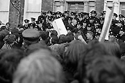 Demonstration at British Embassy.31/01/1972