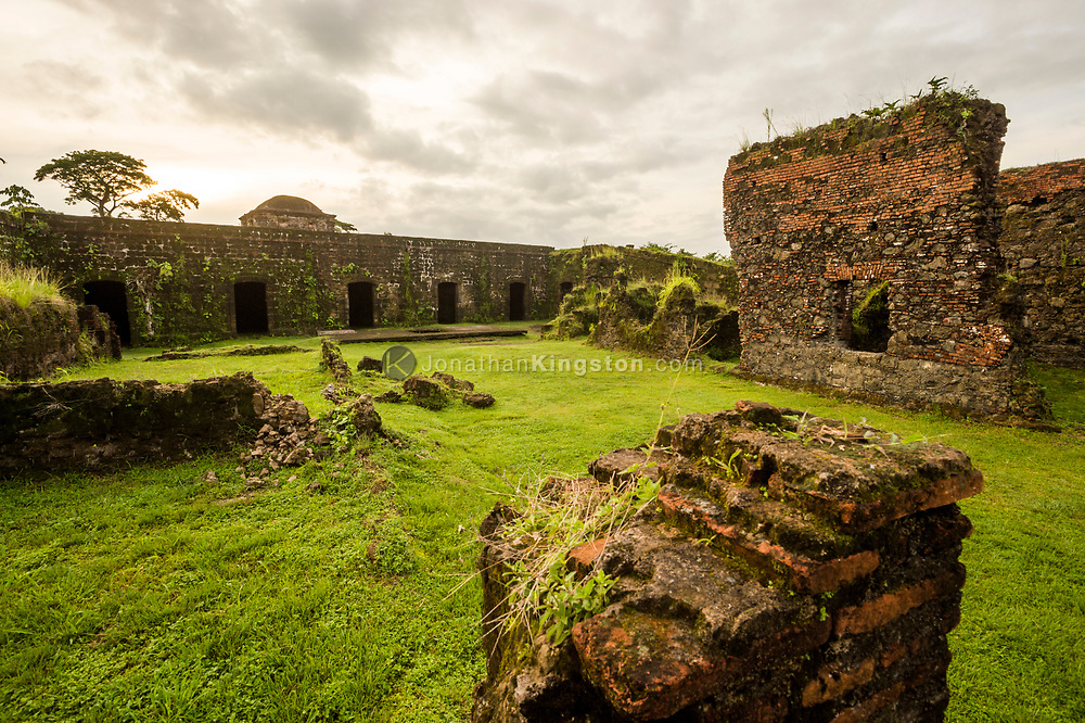 UNESCO world heritage site Fort San Lorenzo, Panama.