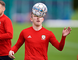 CARDIFF, WALES - Saturday, September 8, 2018: Wales' Declan John during a training session at the Vale Resort ahead of the UEFA Nations League Group Stage League B Group 4 match between Denmark and Wales. (Pic by David Rawcliffe/Propaganda)