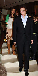 LORD FREDERICK WINDSOR and  at a party to celebrate the 2nd anniversary of Quintessentially magazine held at Asprey, Bond Street, London on 24th February 2005.<br /><br />NON EXCLUSIVE - WORLD RIGHTS