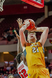 NORMAL, IL - February 05: Derrik Smits during a college basketball game between the ISU Redbirds and the Valparaiso Crusaders on February 05 2019 at Redbird Arena in Normal, IL. (Photo by Alan Look)