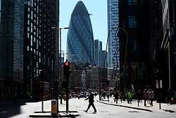UK ENGLAND LONDON 20APR15 - <br /> <br /> View of Bishopsgate overlooking the City of London.<br /> <br /> jre/Photo by Jiri Rezac<br /> <br /> <br /> <br /> © Jiri Rezac 2015