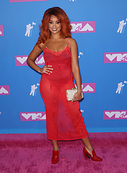 August 21, 2018 - New York City, New York, USA - 8/20/18.Jillian Hervey (Lion Babe) at the 2018 MTV Video Music Awards at Radio City Music Hall in New York City. (Credit Image: © Starmax/Newscom via ZUMA Press)