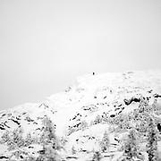 Mt Monadnock B+W