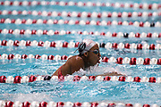 UGA swimmer Kimberlee John-Williams is shown at swim practice in the Gabrielsen Natatorium on the University of Georgia campus in Athens, Georgia, on Wednesday, Sept. 28, 2016. (Photo/Casey Sykes, www.caseysykes.com)