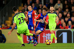 Lee Chung-Yong of Crystal Palace is tackled by Emre Can of Liverpool - Mandatory by-line: Jason Brown/JMP - 29/10/2016 - FOOTBALL - Selhurst Park - London, England - Crystal Palace v Liverpool - Premier League