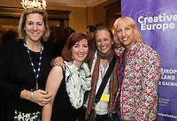 To celebrate 25 Years of MEDIA, The Creative Europe MEDIA Office Galway held the&nbsp;Creative Europe&nbsp;MEDIA Co-Production Dinner&nbsp;in Hotel Meyrick&nbsp;on Thursday the 7th of June as part of The&nbsp;Galway Film Fleadh.&nbsp;<br /> At the event was Ohna Falby - Lift to Live Films<br /> Jessie Mangum - Goalpost Films and Beatrice Neumann - Adda.<br /> <br />  The networking dinner gives Fleadh goers&nbsp;privileged access to the world's leading film Financiers and a fantastic&nbsp;opportunity to network with European Producers and Film Fair Financiers. &nbsp;Creative Europe MEDIA Office Galway offers comprehensive information on the European Union's Creative Europe Programme, offering advice, support and information on Creative Europe funding support for the audiovisual industries including film, television and games.&nbsp; The regional office is also available to respond to queries by phone or email.&nbsp; In addition to providing one-to-one advice sessions and events throughout the year. &nbsp;<br /> <br /> For further information contact Eibhl&iacute;n N&iacute; Mhunghaile on 091 770728 or via email on&nbsp;eibhlin@creativeeuropeireland.eu&nbsp;<br />  Photo: Andrew Downes XPOSURE