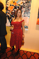 GIOVANNA TAYLOR wormer wife of Duran Duran star Roger Taylor at a party to celebrate the first year of ING's sponsorship of the Renault Formula 1 team, held at the Mayfair Hotel, Stratton Street, London W1 on 28th November 2007.<br /><br />NON EXCLUSIVE - WORLD RIGHTS