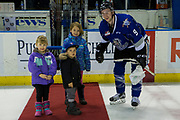 KELOWNA, CANADA - MARCH 07:  Third Star of the Game Jack Walker #9 of the Victoria Royals at the Kelowna Rockets game on March 07, 2017 at Prospera Place in Kelowna, British Columbia, Canada.  (Photo By Cindy Rogers/Nyasa Photography,  *** Local Caption ***