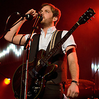 The Kings Of Leon playing at the MEN in Manchester
