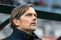 ALKMAAR - 02-04-2016, AZ - PSV, AFAS Stadion, 2-4, PSV trainer coach Phillip Cocu