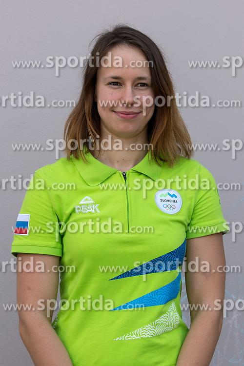 Tjasa Vozel at presentation of Slovenian Olympic Team for Rio 2016, on July 22, 2016 in Koper, Slovenia. Photo by Matic Klansek Velej / Sportida