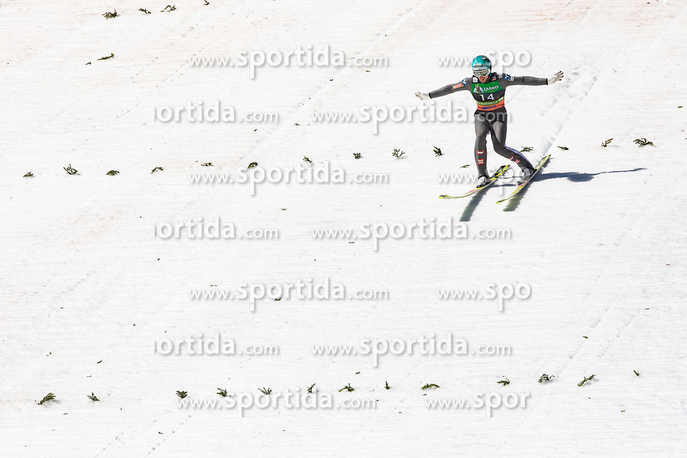 Michael Hayboeck (AUT) during the 2st round of the Ski Flying Hill Individual Competition at Day 4 of FIS Ski Jumping World Cup Final 2019, on March 24, 2019 in Planica, Slovenia. Photo Peter Podobnik / Sportida