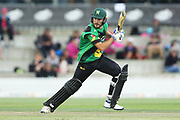 Stags Ben Smith batting during the Burger King Super Smash Twenty20 cricket match Knights v Stags played at Bay Oval, Mount Maunganui, New Zealand on Wednesday 27 December 2017.<br /> <br /> Copyright photo: &copy; Bruce Lim / www.photosport.nz