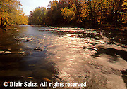 PA landscapes, Sherman's Creek, Fall Foliage, Perry Co., Pennsylvania