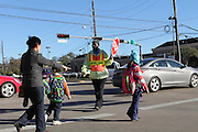 T.H. Rogers K-8 Bus Drivers and Crossing Guard.