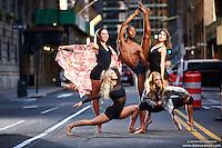 Dance As Art Photography Project Midtown Manhattan Series with dancers Mykaila Symes, Maren Clemsen, Daniel White, Rose Seidman and Rachel Fine.