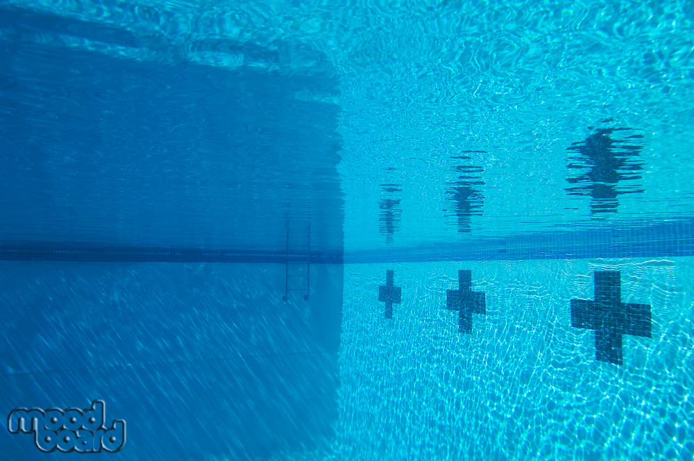 Swimming pool, underwater