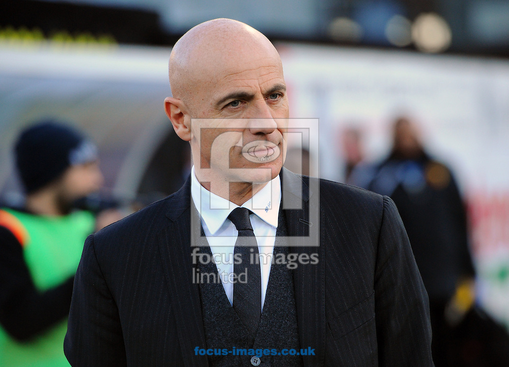 Picture by Seb Daly/Focus Images Ltd +447738 614630<br /> 11/01/2014<br /> Giuseppe Sannino of Watford during the Sky Bet Championship match at Vicarage Road, Watford.