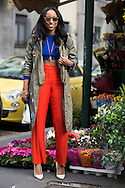 Shiona Turini at Milan Fashion Week FW2015