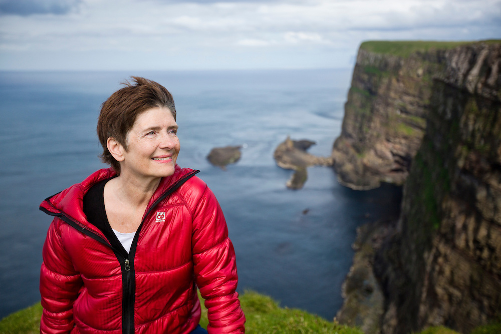 Mykines Island, Faroe Islands.  <br />