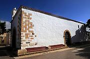 Historic village church dedicated to San Antonio de Padua, village of Toto, Pajara,  Fuerteventura, Canary Islands, Spain