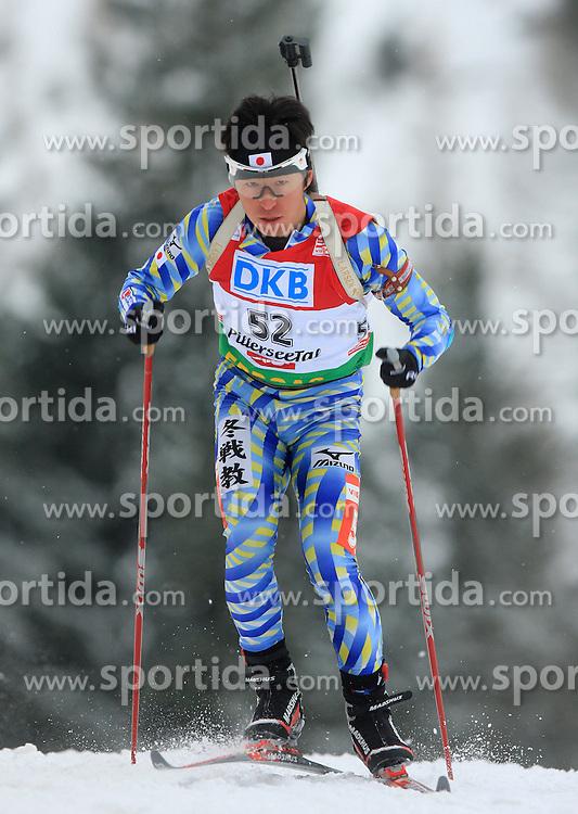 Junji Nagai (JPN) at Men 20 km Individual at E.ON Ruhrgas IBU World Cup Biathlon in Hochfilzen (replacement Pokljuka), on December 18, 2008, in Hochfilzen, Austria. (Photo by Vid Ponikvar / Sportida)