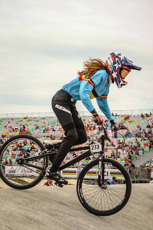 2018 UCI World Championships<br /> Baku, Azerbaijan<br /> Cruiser - 16 &amp; Under Women #273 (VAN SAEN Thessa) BEL