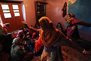 Traditional Muslim wedding in the village of Nara Nagh. Kashmir, India, 2014