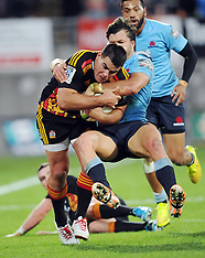 New Plymouth-Super Rugby, Chiefs v Waratahs, May 31