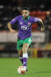 Bristol City's Derrick Williams - Photo mandatory by-line: Dougie Allward/JMP - Mobile: 07966 386802 - 03/03/2015 - SPORT - football - Leyton - Brisbane Road - Leyton Orient v Bristol City - Sky Bet League One