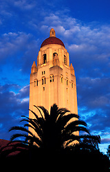 California, San Francisco: Hoover Tower at Stanford University..Photo #: 35-casanfcadayt104.Photo © Lee Foster 2008